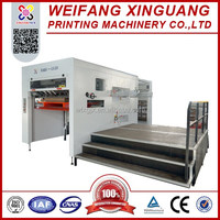 XMB-1520 The high quality flat hand feed die cutting machine for the corrugated box die cutting