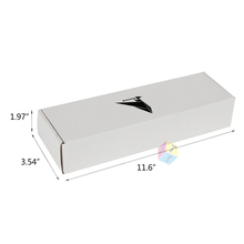 white premium cardboard note card boxes