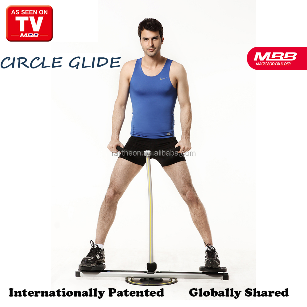 Fitness Training Machine Circle Glide Leg Strength Machine
