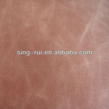New Embossed 0.8mm Elastic 100% Laminated PU Synthetic Leather From China