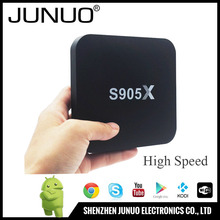 JUNUO wholesale high quality s905x 4K media box internet tv,internet tv box android,arabic internet tv box
