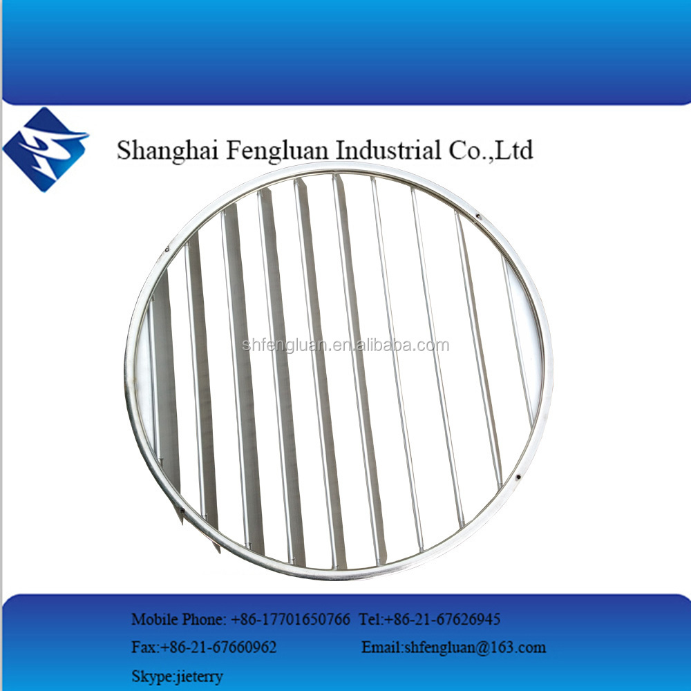 Rotate round ceiling louver vent factory