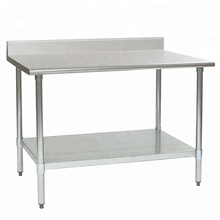 NSF Stainless Steel Kitchen Work Table Commercial Kitchen Restaurant