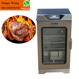 fish meat industrial smokers/meat smoking machine/smoke oven