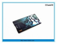 Full color printing usb card credit card usb plastic card usb