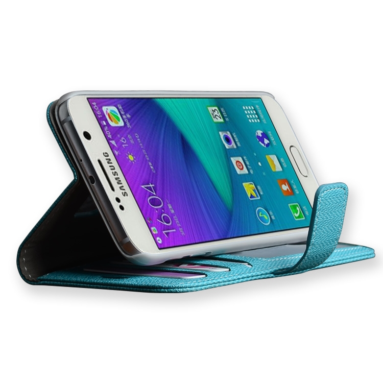leather pda cell phone case for samsung phone stand