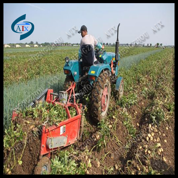 Besting selling cassava toor harvester, cassava harvesting machine with high quality