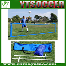 High quality Bule Folding Portable Mini Soccer Tennis Net