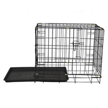 Small size China cheap wholesale commercial folding iron tube pet dog cages MHD002