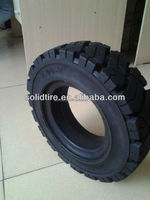 4.00-8 3-layer rubber forklift pneumatic shape solid tires