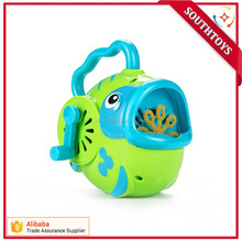 Bubble Hurricane Machine in Fish Shape for Kids Hand-Operated Toy Bubble Maker for Toddlers( Not Include Bubble Solution) ,