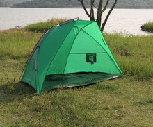 2015 Brand New Blue Coarse Beach Sun Fishing Shelter Tent