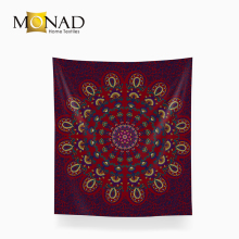 Monad solid reputation large dark colored space tapestry indian mandala