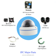 Professional 2.0mp wireless P2P ip camera with plastic material,1080p hd ip security camera built in Microphone