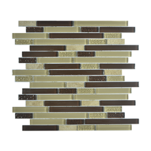 wall tile glass steel mixed tiles laminate glass tiles