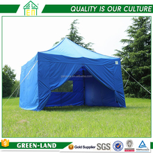 10' x 10' Pop Up Dome Tent Hexagon Aluminum