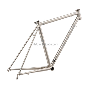 Gr9 titanium pipe used mountain bike frame