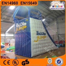 thrilling inflatable water catapult blobs jump diving tower,inflatable jumping pillow