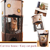 Foldble Cat Dog Cage cat tower manufacturer cat tree tower