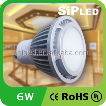 Most powerful 100lm/w cob led gu10 6w 3W 7W 5W Dimmable 40000hrs OEM led spot light 12v led gu10 <strong>spotlight</strong>