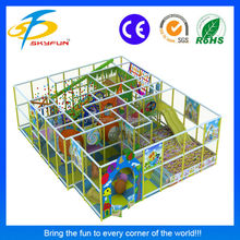 Hot selling safe beautiful designed small indoor playground kids indoor play structure