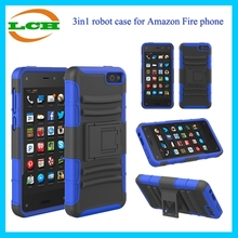 3in1 robot case for Amazone fire phone