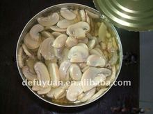 Canned mushroom(Sliced) with top quality
