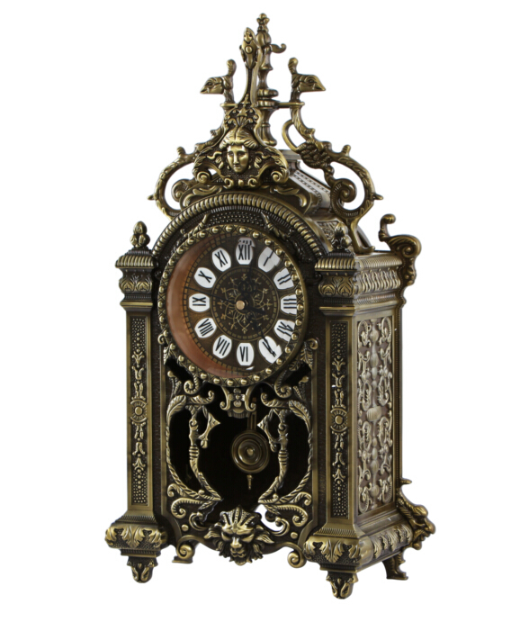 China grandfather clocks metal hanging double side clock buy hanging double side clock antique - Wall hanging grandfather clock ...
