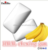 Best quality sugarless gum package banana chewing gum