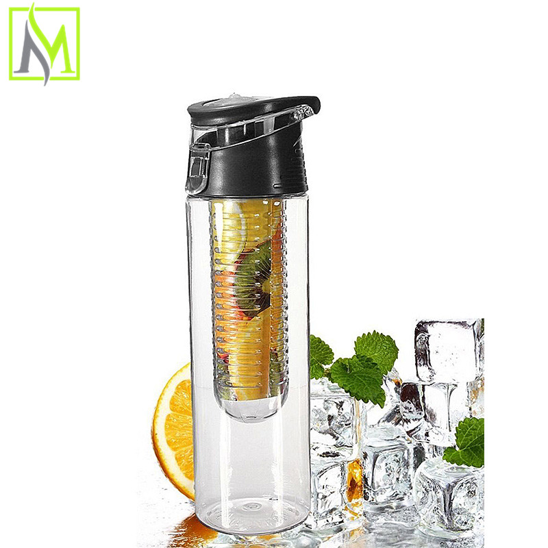 2015 private labeled plastic tea infuser Absolutely Leak Proof