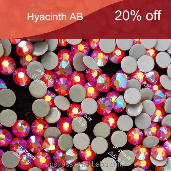 ss20 Hyacinth AB Bling hot fix flat back rhinestone for craft decoration,stones decoratingf nails,China TOP AAA crystals factory