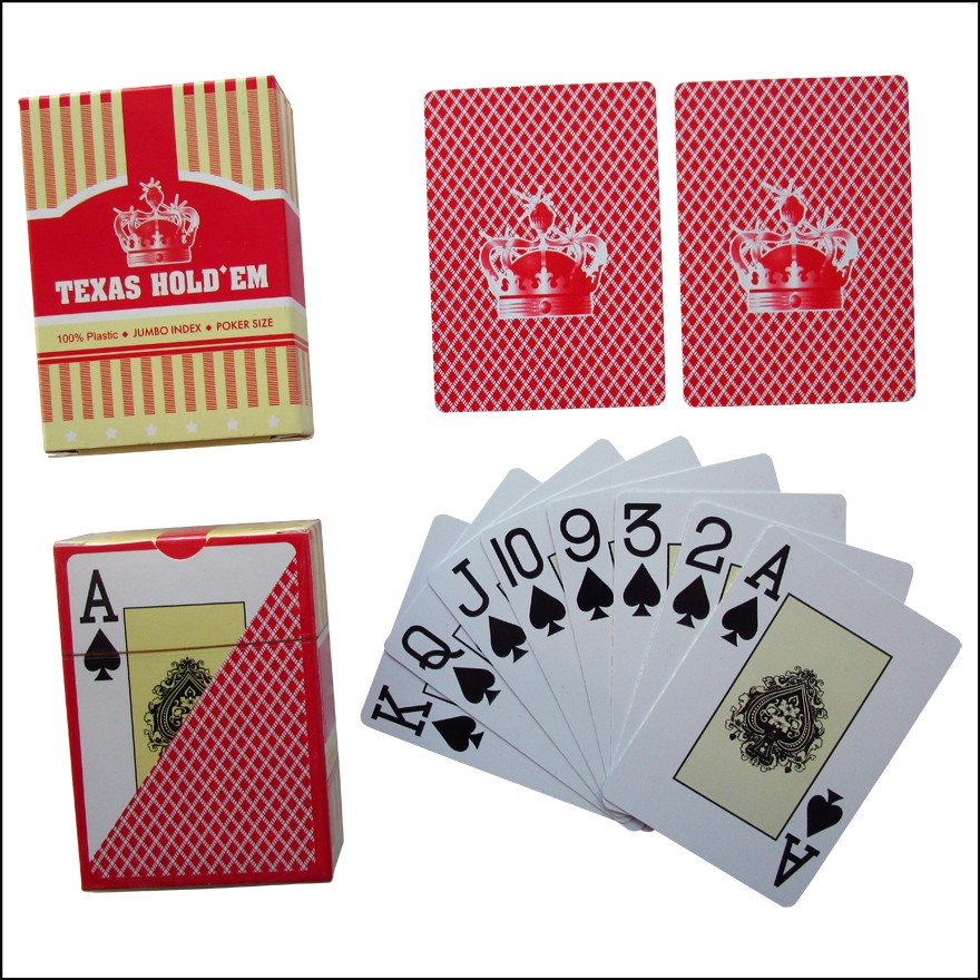 Texas hold em cards order