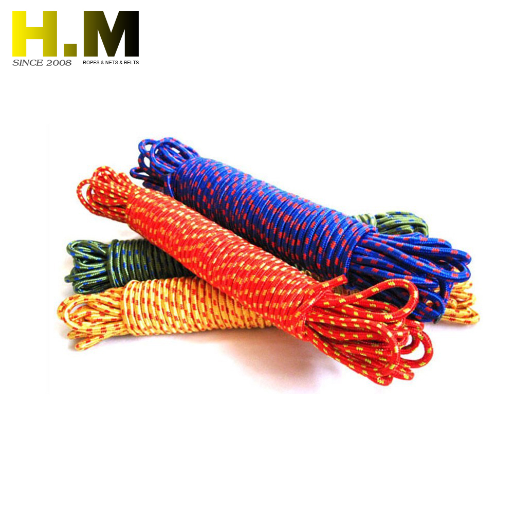 Outdoor safety rope plastic rope polyester twist rope