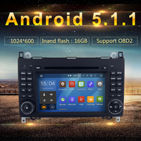 Android 5.1.1 Car DVD GPS for Mercedes Benz A Class W169 Sprinter Viano 3G Wifi BT SDNavigation Radio RDS Stereo System