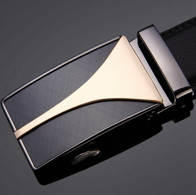 Wholesale Fashion Design Man Genuine Leather Belt Automatic Buckle