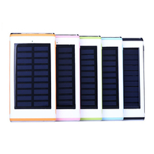 2017 Newest Rechargeable Mobile Solar Charger, Power Banks 12000mah, Portable Cell Phone energy support