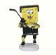 Special sports promotion gift cute spongebob dolls Resin NHL hockey player custom bobble head