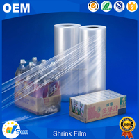 China Manufacturer Battery Packing Use High Shrinkage Rate Clear Casting Pvc Shrink Film