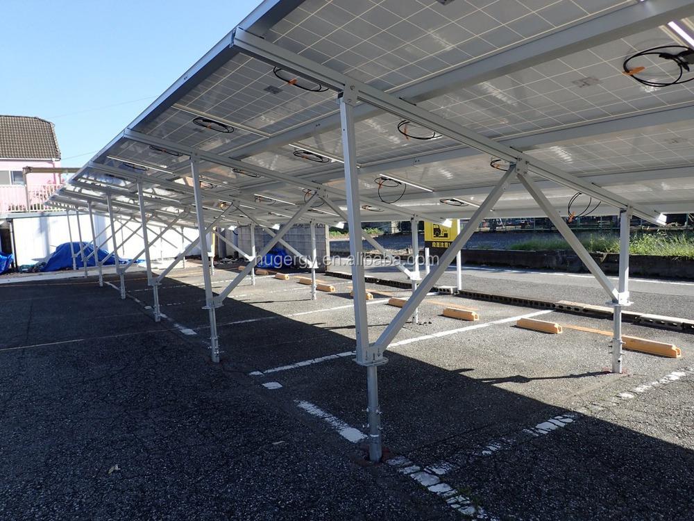Adjustable Solar Panel Ground Mounted Racks For Solar Farm