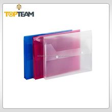 A4 expandable document wallet,pp file wallet for document and paper