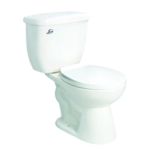 American popular side flush siphon two piece bathroom toilet