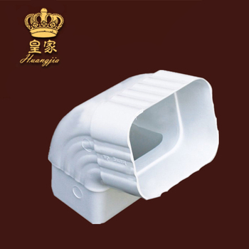 New Material Roof PVC Gutter Downspout Elbow