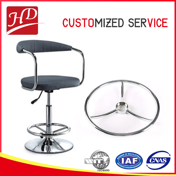High quality office furniture spare part, steel base for chair
