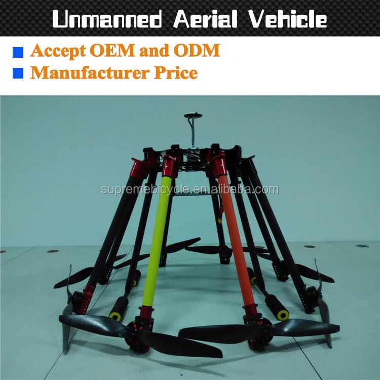 Customize carbon fiber drone uav frame for long distance drone agriculture and accetp oem odm obm