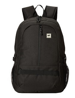 Black light business laptop backpack for man