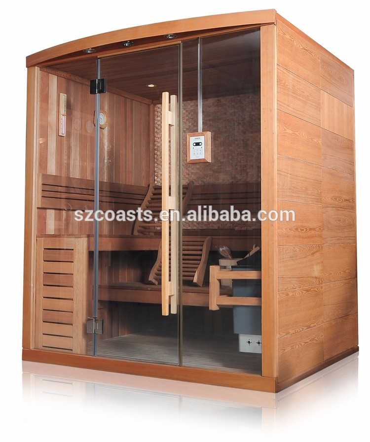 20 Years Manufacturer KEYA wood steam bath sauna room With Sauna Steam Generator