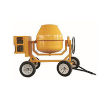 high quality plastic cement mixer/300L electric motor /diesel /gasolin engine portable concrete mixer with 300L drum capacity