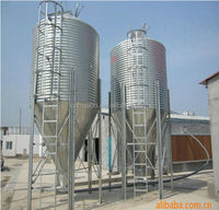 Huabo worldwide popular feeder silo poultry chicken farm