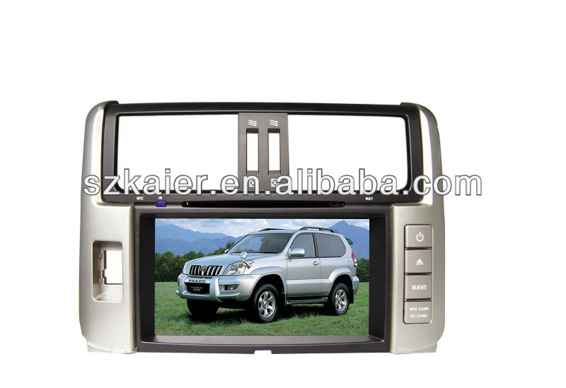 car dvd for TOYOTA PRADO 2012 support 8 cd, RDS, DSP,MP4, Mp5, 3G, wifi