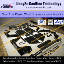 W463 full wide body kit G800 plastic ABS for Mercedes